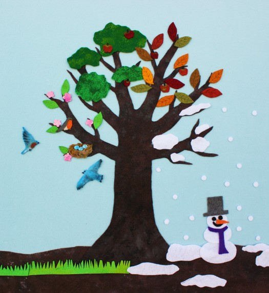 This image has an empty alt attribute; its file name is felt-seasons-tree25.jpg